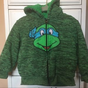 Hoodie Teenage Mutant Ninja Turtle Size 3T
